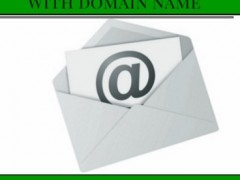 How to get a email set up with your website domain name