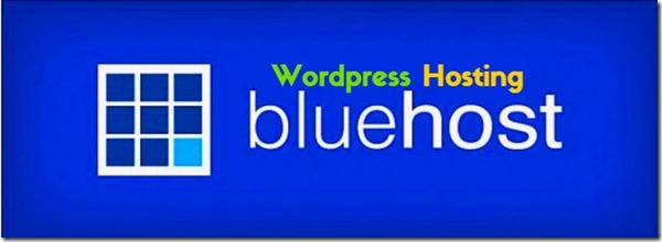 blue logo wordpress hosting for blue host .com Australia US and UK