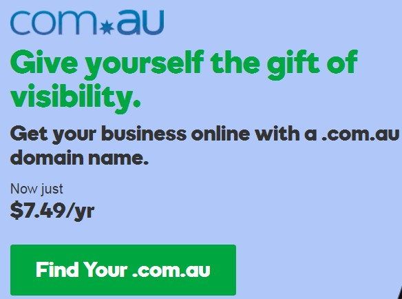 2017 godaddy deal Australian domain names