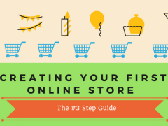 3 Steps to start an online ecommerce shop easily and quickly