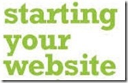 starting your website